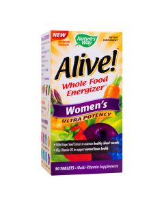 Alive Women's Ultra 30 tablete Potency  Secom