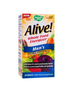 Alive Men's Ultra 30 tablete Secom