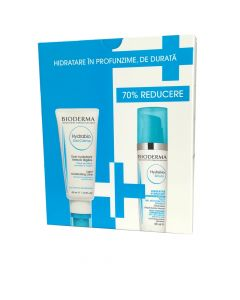 Oferta Bioderma Hydrabio Gel-crema 40 ml si Hydrabio Serum 40 ml