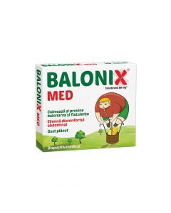 Balonix MED 10 comprimate masticable
