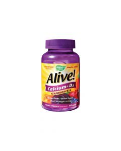 Alive Calcium + D3 Gummies 60 jeleuri Secom