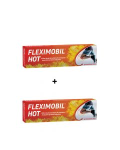 Oferta Fleximobil Hot Gel emulsionat 45 gr Fiterman