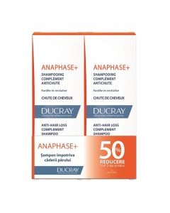 Pachet Șampon revitaliant și fortifiant Anaphase + Ducray