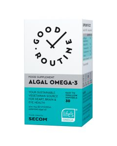 Algal Omega-3 30 capsule Good Routine Secom
