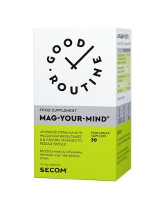 Mag-Your-Mind 30 capsule Good Routine Secom