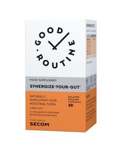 Synergize-Your-Gut 30 capsule Good Routine Secom