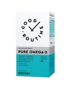 Pure Omega-3 60 capsule Good Routine Secom