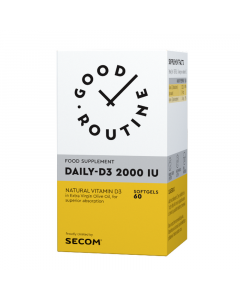 Daily-D3 2000 IU Good Routine Secom