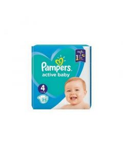 Pampers Active Baby 4 (25 buc)