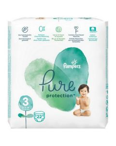 Pampers Pure Protection marimea 3 (6-10kg)