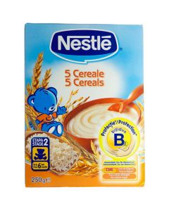 Nestle 5 Cereale 250 grame