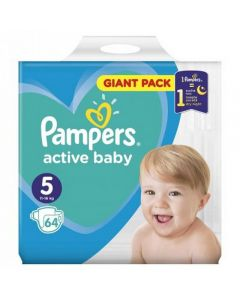 Pampers Active Baby Nr.5 (11-18kg) x 64 buc