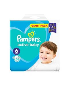Pampers Active Baby Nr. 6 x 56 buc
