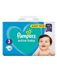 Pampers Active Baby Nr.3 (6-10 kg) x 90 buc