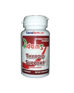 Thyroid Support 30 capsule Adams Vision