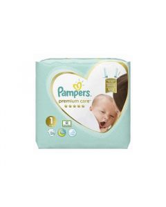 Pampers Premium Care Nr. 1 (2 - 5 kg) x 26 buc