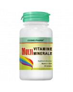 MultiVitamine si MultiMinerale 30 tablete Cosmopharm
