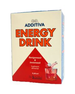 Additiva Energy Drink 8 plicuri Dr. Scheffler