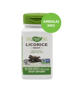 Licorice Lemn dulce 450 mg Secom