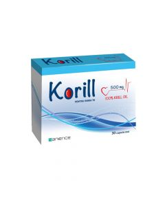 Korill 500 mg x 30 capsule
