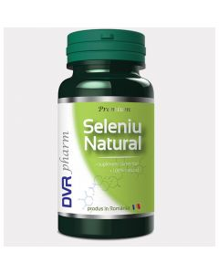 Seleniu Natural 60 capsule DVR Pharm