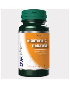 Vitamina C Naturala 60 capsule DVR Pharm