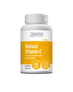 Natural Vitamin E 60 capsule Zenyth