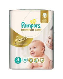 Pampers Premium Care Midi Nr.3 (5-9 kg)