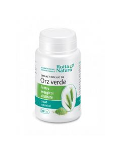 Rotta Natura Extract din Suc Orz Verde 30 capsule