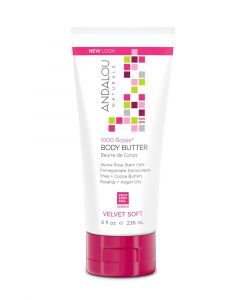 Andalou Naturals 1000 Roses Velvet Soft Body Butter 236 ml Secom