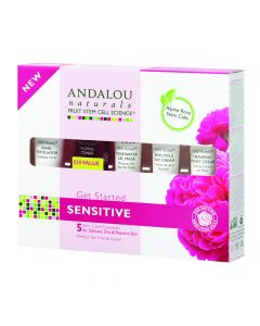 Andalou Naturals Sensitive Get Started Kit Secom