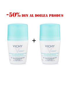 Oferta Vichy Deodorant roll-on antiperspirant eficacitate 48h