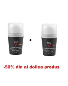 Oferta Vichy Homme Deo Roll-on 72h