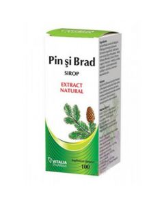 Sirop Pin si Brad 100 ml Vitalia Pharma