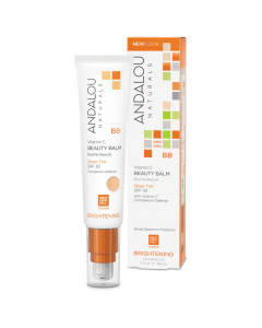 Andalou Naturals Vitamin C BB Beauty Balm Sheer Tint SPF 30 Secom