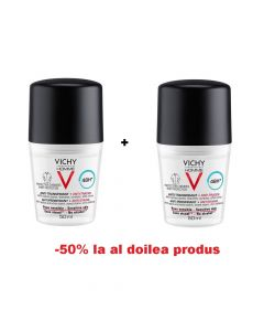 Oferta Vichy Homme Roll-on eficacitate 48h anti-urme