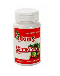 Acid Folic 400 mcg Adams Vision