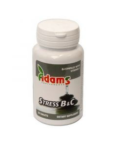 Stress B & C 30 tablete Adams Vision