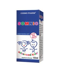 Somnic Advanced Kids Sirop 125 ml Cosmopharm