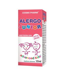 Alergo Junior sirop 125 ml Cosmopharm
