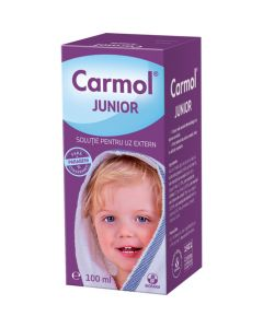 Carmol Junior Solutie 100 ml Biofarm