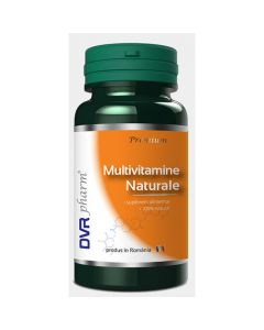 Multivitamine naturale 60 capsule DVR Pharm
