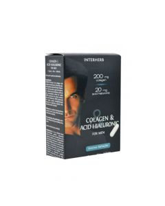 Colagen si Acid Hialuronic For Men Interherb