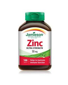 Zinc 50 mg 100 tablete Jamieson